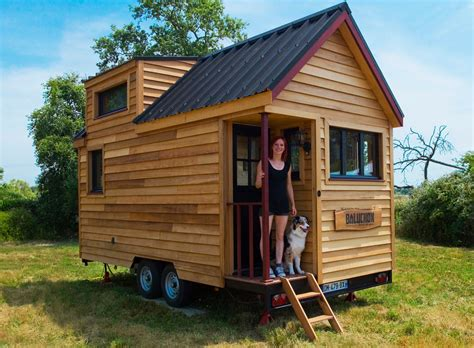 mini houses la tiny house baluchon pr 233 sentation