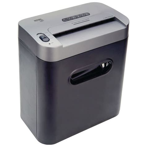home shredder royal 100x 10 sheet cross cut shredder