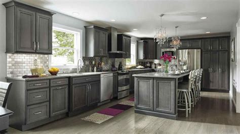 Light Gray Cabinets Kitchen Light Gray Cabinets Black Granite Deductour