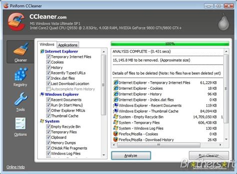 ccleaner like software free pc tune up utilities