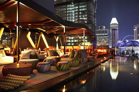 Roof Top Bar Singapore by World S Most Spectacular Rooftop Bars Luxury Accommodations
