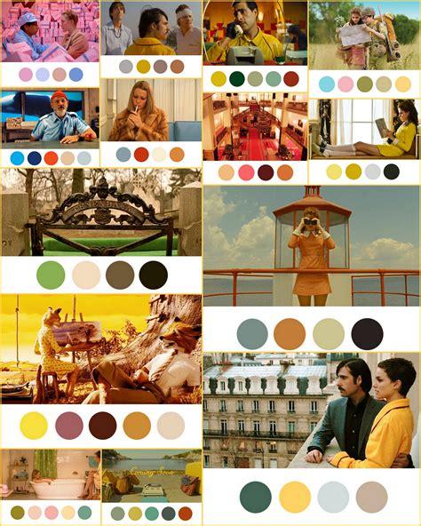wes color palette wes palettes color 映画 シネマ パレット