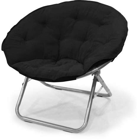 mainstays saucer chair mainstays plush saucer chair colors walmart