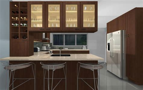 what is the cabinet modern kitchen cabinet decor ideas features microwave