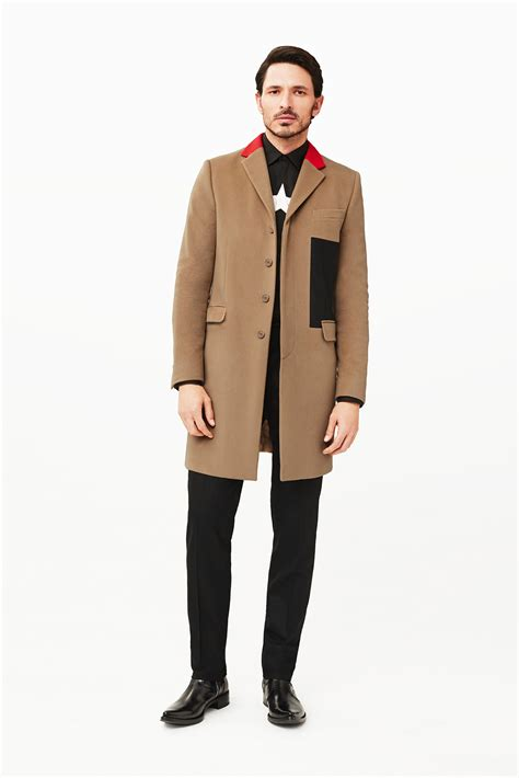 end clothing autumn 2015 mens lookbook masculine and classic looks in givenchy pre fall men s