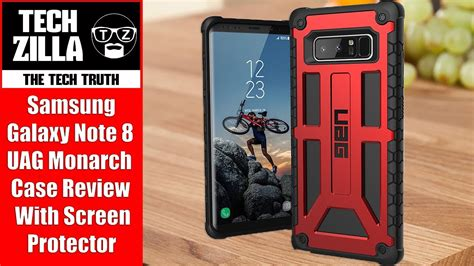 Uag Casing Samsung Galaxy Note 5 Armor Gear Back Cover samsung galaxy note 8 uag monarch review 4k my