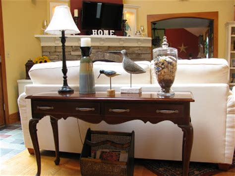 decorating ideas for sofa tables sofa table decorating ideas