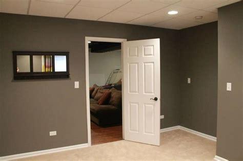 wall panels ideas in basement modern basement chicago