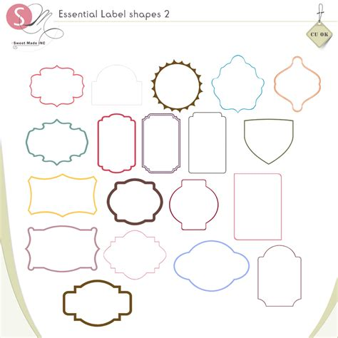 free printable label shapes search results for printable gift tags shapes calendar