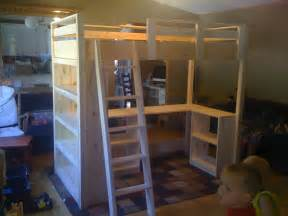 Loft Bed Diy White S Loft Bed Diy Projects