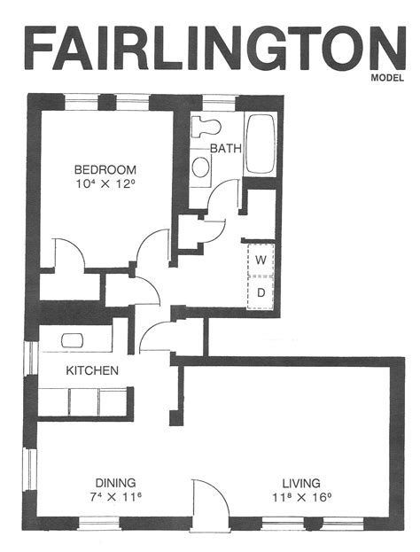 fairlington floor plans fairlington model floor plan fairlington historic district