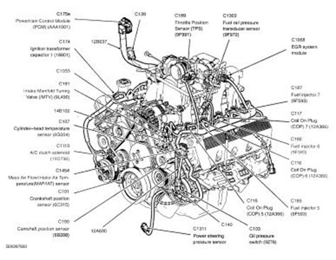 ford f150 4 6 engine diagram 97 ford f 150 4x4 4 6 engine diagram get free image