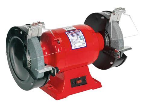 bench grinders uk sealey bg200 99 bench grinder 200mm 600w 230v heavy duty