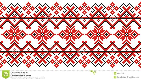 traditional pattern photography moldovian traditional pattern stock illustration image