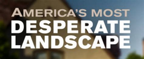 Desperate Landscapes Sweepstakes - diy network america s most desperate landscape giveaway
