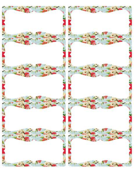 design flower tag vintage flower shop labels worldlabel blog