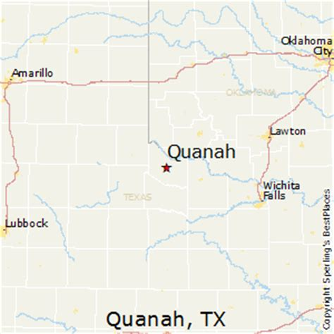 quanah texas map best places to live in quanah texas