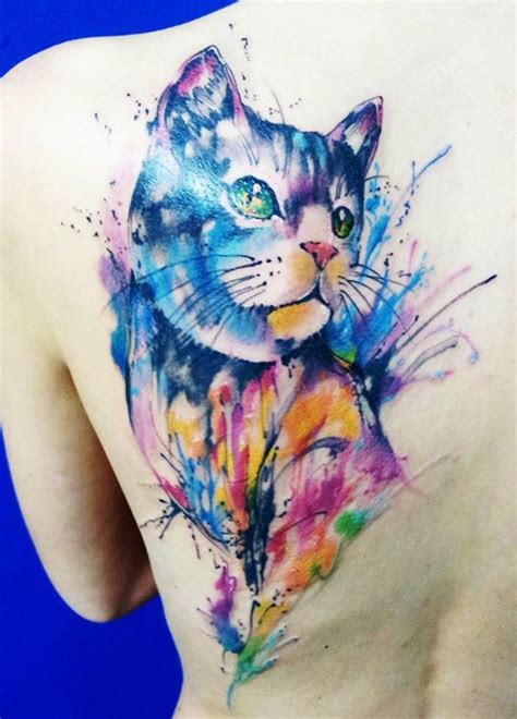 watercolor tattoo tecnica 32 charming watercolor animal designs amazing