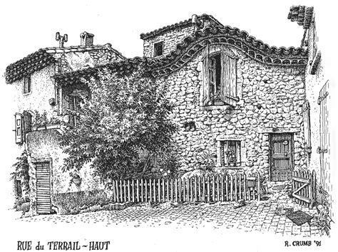 R Crumb Sketches by Ink Drawings Of Buildings The Visual Exegesis R Crumb