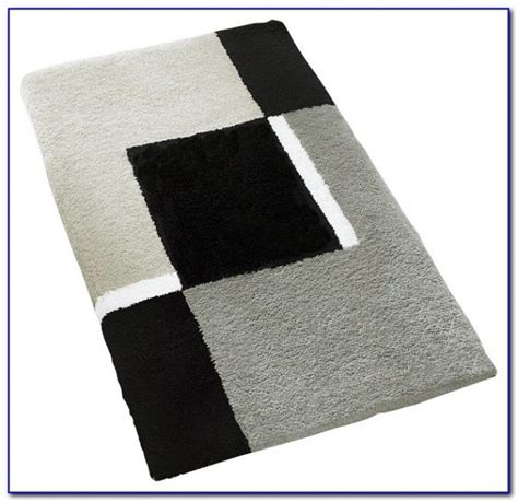 Large Bath Rugs Fleur Duo Bath Rug In Navy With Large Large White Bathroom Rugs