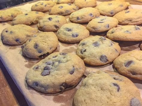azie kitchen chocolate chips cookies classic chocolate chip cookies crunchy chewy sweet and