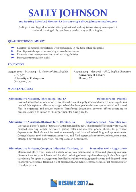 resume template simple latest sample resume format updated