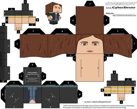 Cubee Papercraft - cubee clara oswald by cyberdrone on deviantart doctor