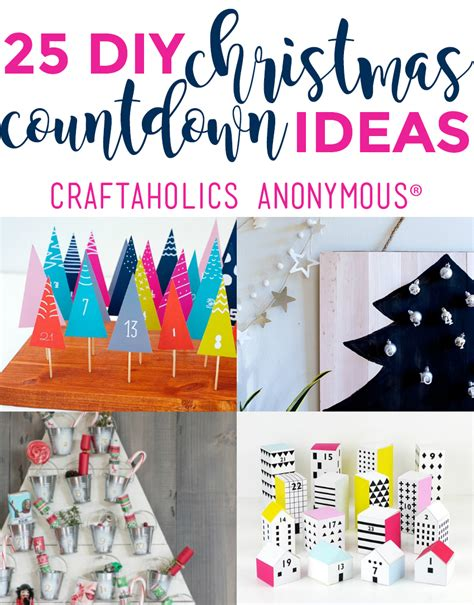 countdown crafts for countdown ideas advent calendars easy