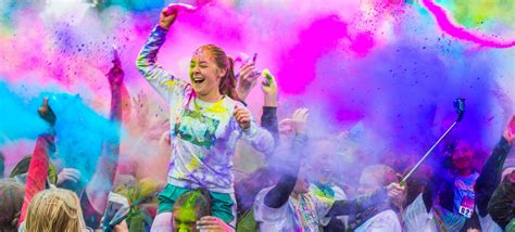 what is the color run stiegel and burgard ptos partner to host color run