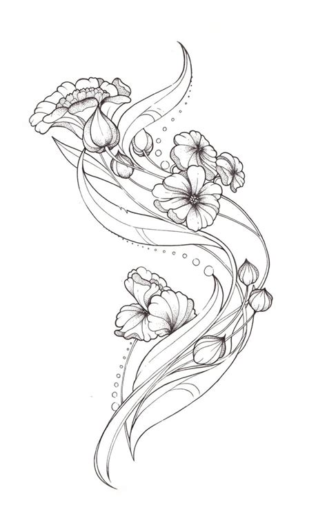 tattoo design art art nouveau tattoo design by tegan ray on deviantart