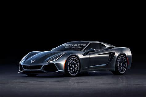 Mid Motor Corvette by We New Mid Engine Corvette Renderings Corvetteforum
