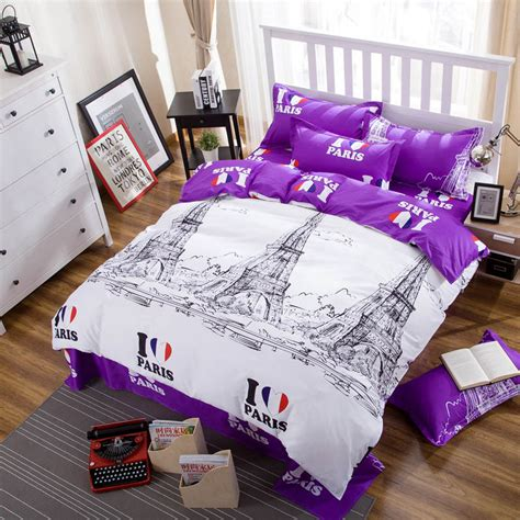 london paris comforter set aliexpress com buy queen king twin full bedding sets