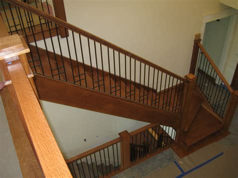 Home Interior Railings colonial iron works iron interior handrails
