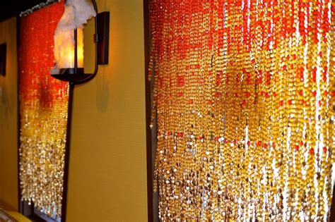 gold bead curtain chagne gold bead curtain hanging sculpture