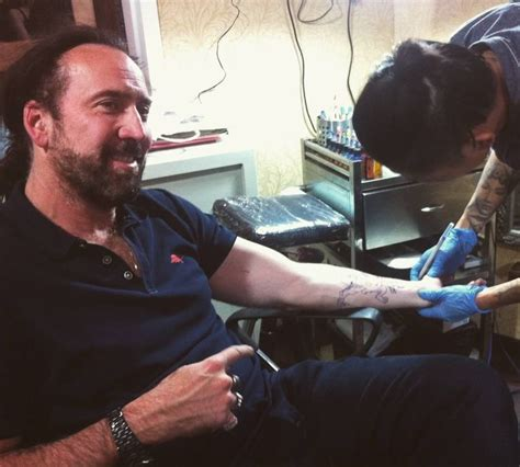 nicolas cage tattoo outstanding premium tattoos at imprint in sanlitun