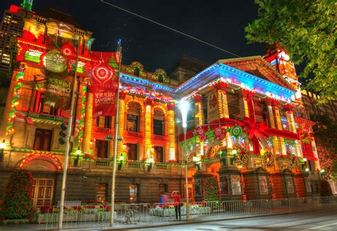 file 2013 melbourne town hall christmas projection