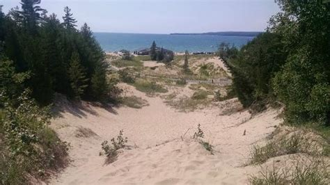 critical dunes emmet county lots of sand dunes to climb picture of petoskey state park petoskey tripadvisor