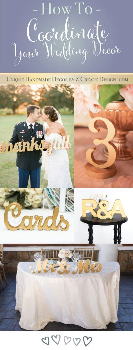 how to coordinate your wedding decor gold table numbers and gold accents for your special day