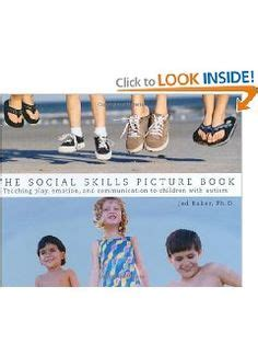 jed baker social skills picture book classroom social skills on