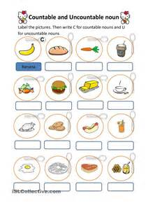 countable and uncountable nouns esol kids pinterest