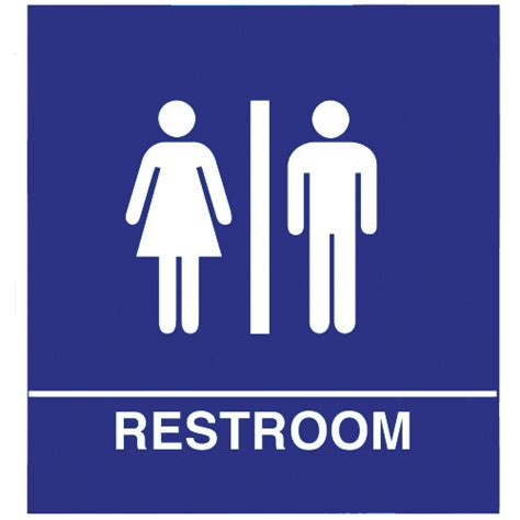 Bathroom Signs And Unisex Bathroom Sign Clipart Best