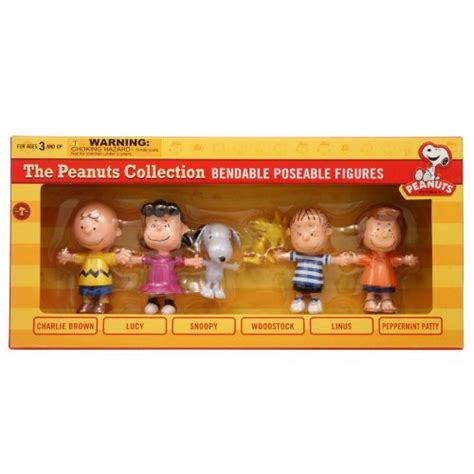 Snoopy Brown And Friends Figure Set 7pcs actiontoysfigure shop for toys and figure