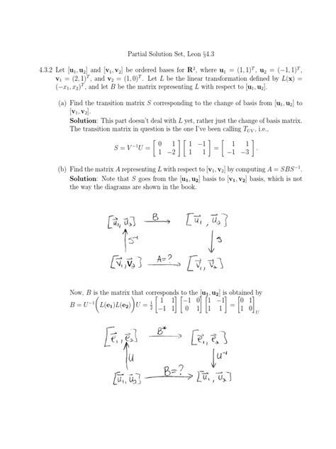 Linear Transformations | Basis (Linear Algebra) | Matrix