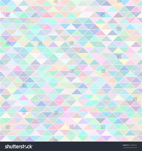 pattern pastel triangle abstract background color pastel triangle mosaic stock