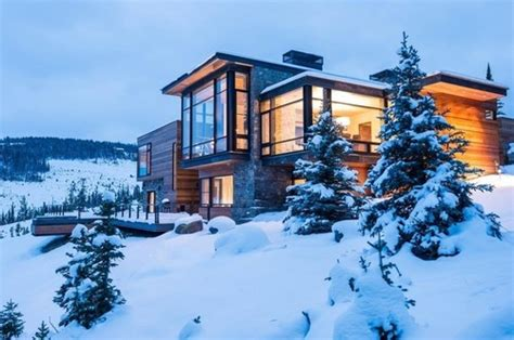 home usa design group maison bois contemporaine de montagne par pearson design