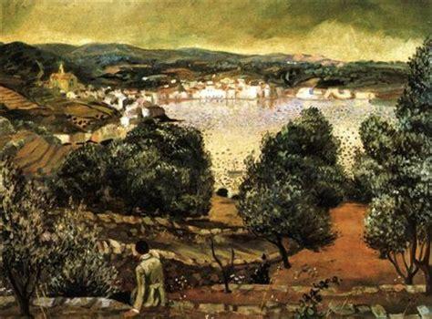 Landscape Near Figueras Olive Trees Landscape At Cadaques Salvador Dali