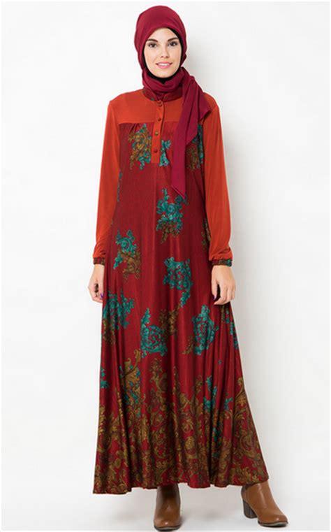 desain baju batik ibu hamil modisnya ibu hamil dengan model baju lebaran gamis terbaru