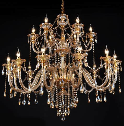 Buy Large Chandelier Aliexpress Buy 18 Arm Luxury Layer