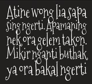 Kata Mutiara Jawa Timuran Qurhadee Com