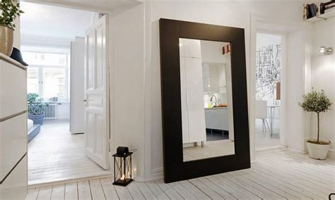 large wall mirrors for living room design